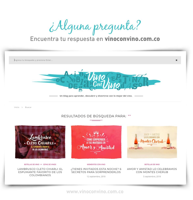 Encuentra información en nuestro blog vinoconvino.com.co