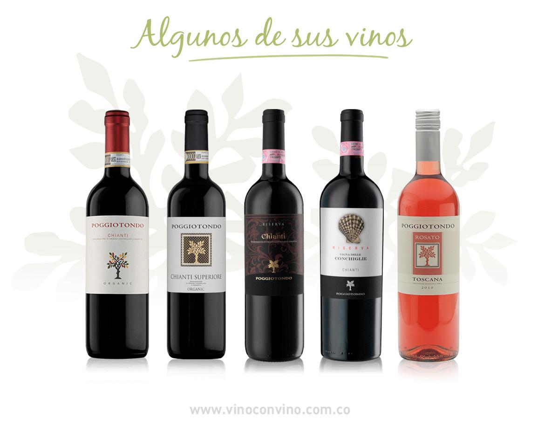 Algunos vinos Poggiotondo