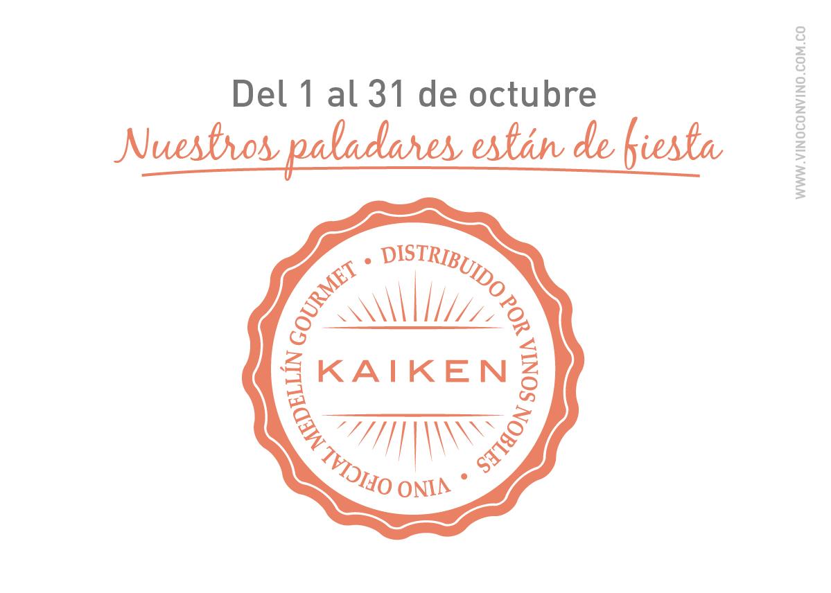 Kaiken Vino Oficial Medellín Gourmet