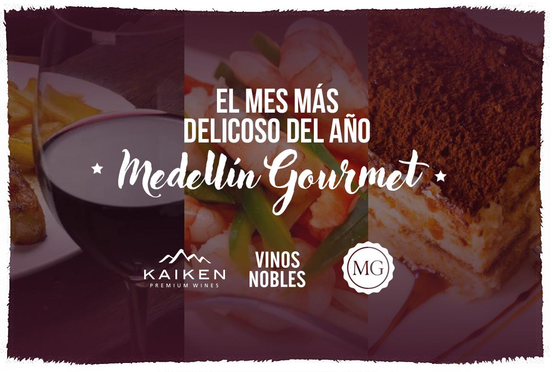 Medellín Gourmet 2018, nuestros vinos de la Bodega Kaiken serán protagonistas