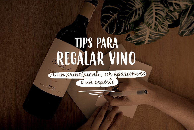 Tips para regalar vino