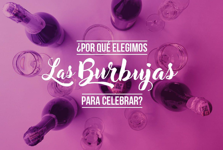 Burbujas sinónimo de celebración