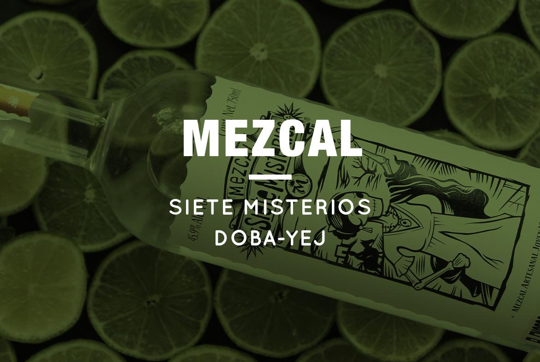 Siete Misterios Doba-yej. Un mezcal para viajar a México en un solo trago