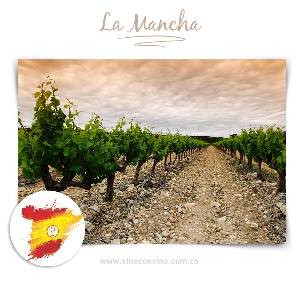 La Mancha - Región de vino en España