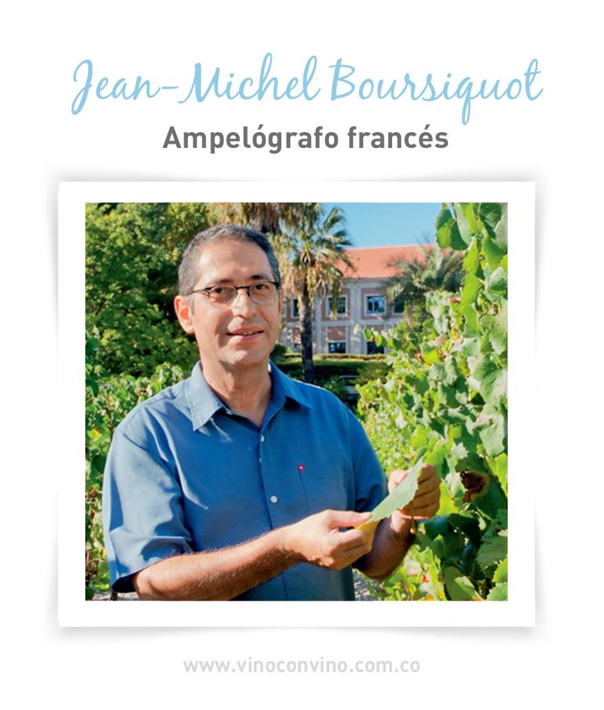 Ampelógrafo francés Jean-Michel Boursiquot