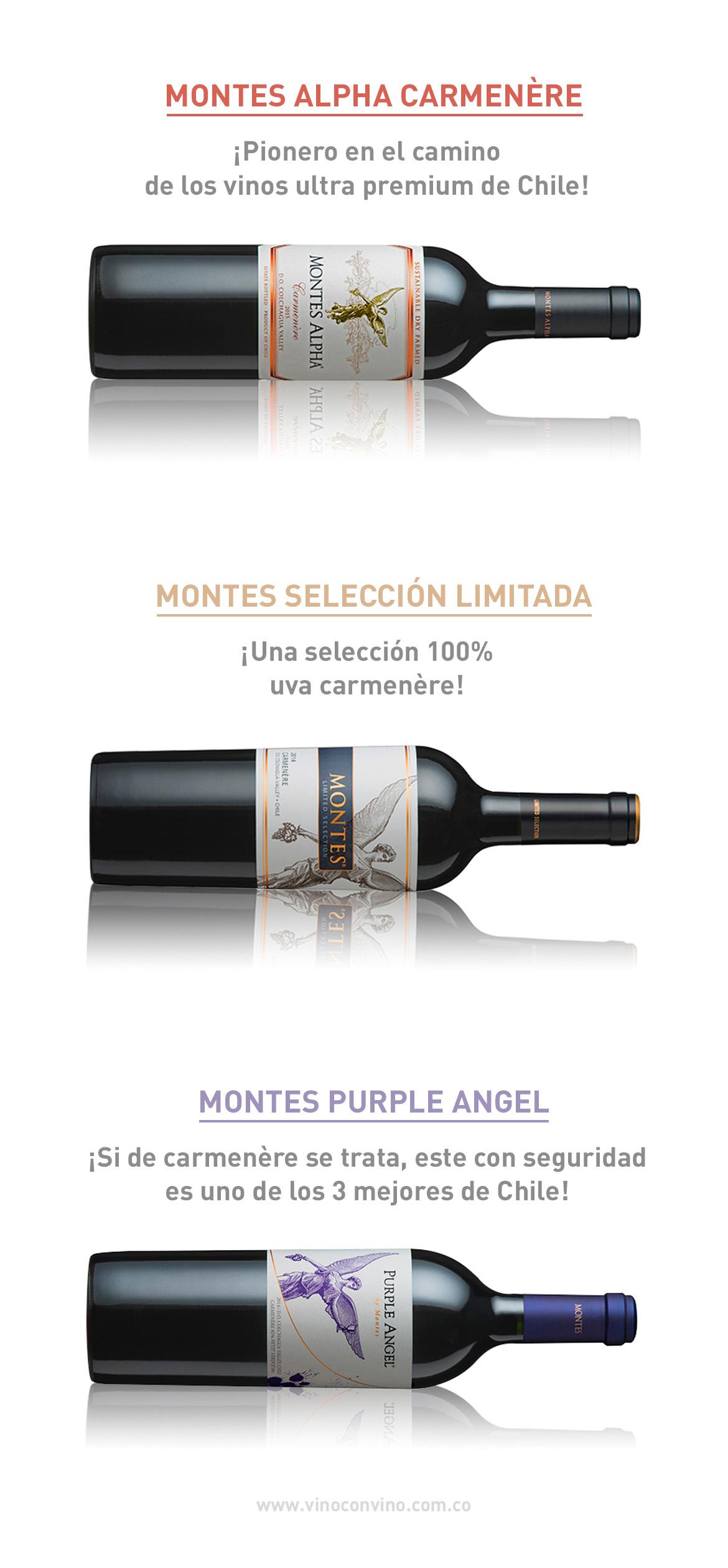 Vinos Carmenère Recomendados