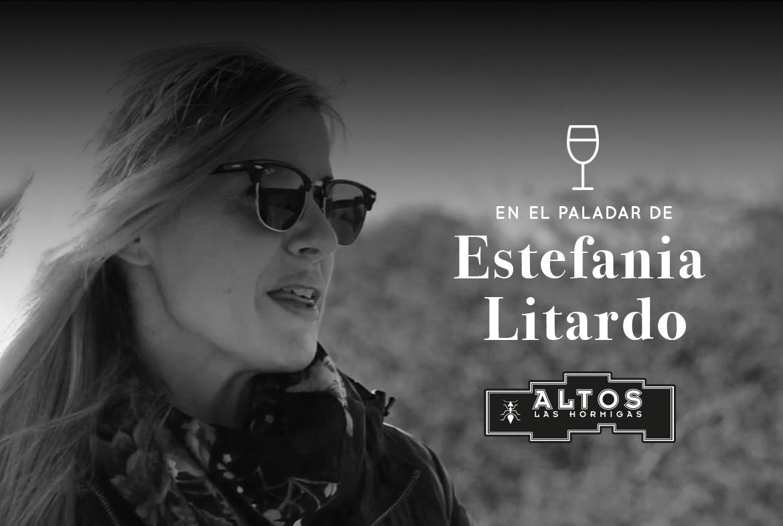 Mujer en el vino. El paladar de Estefanía Litardo - Altos Las Hormigas