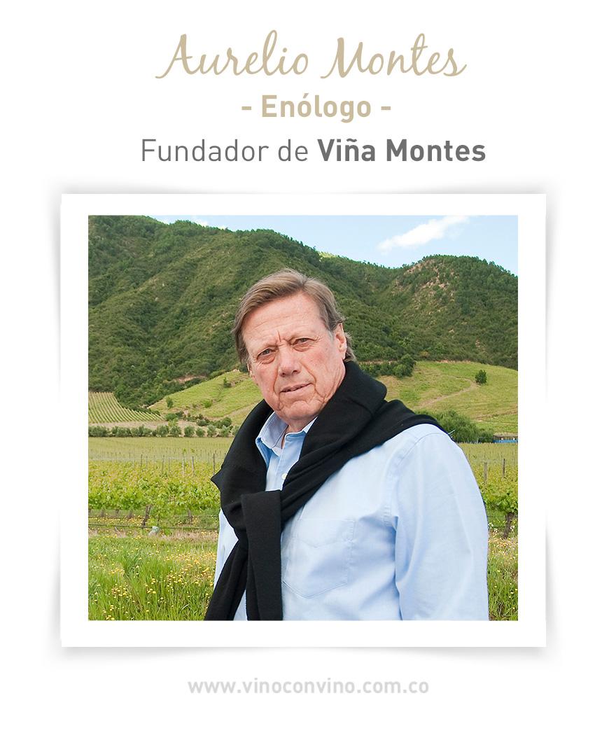 Enólogo Aurelio Montes