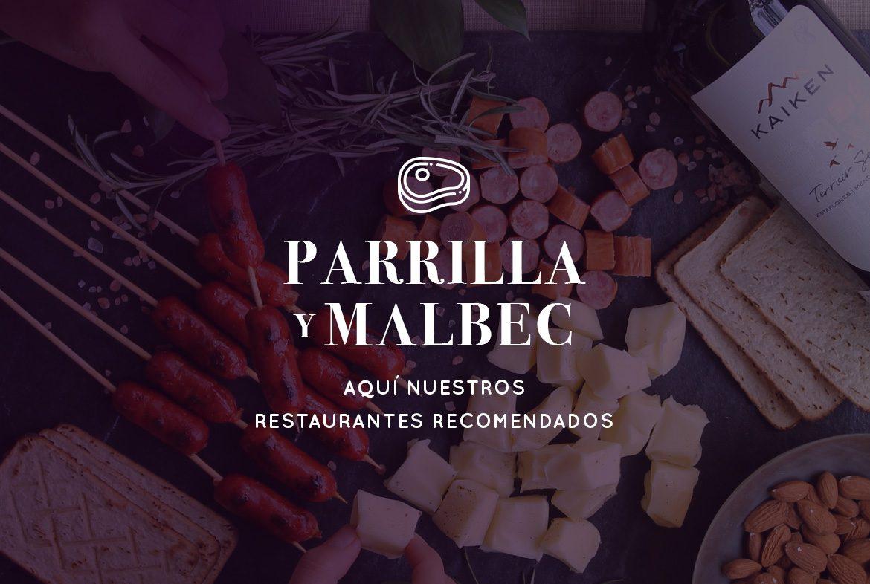 Restaurantes de Parrilla y Malbec