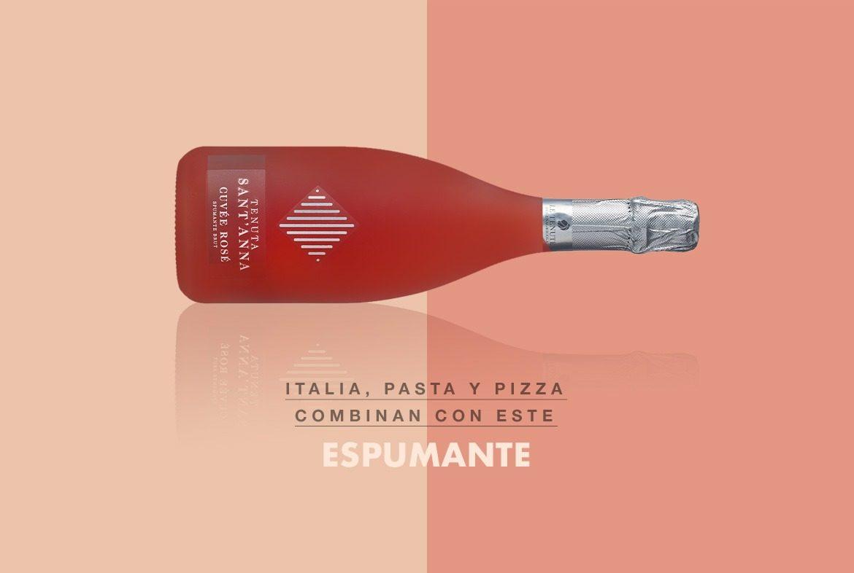 Vino Italiano recomendado Tenuta Santa'Anna Cuvée Rosé Spumante Brut