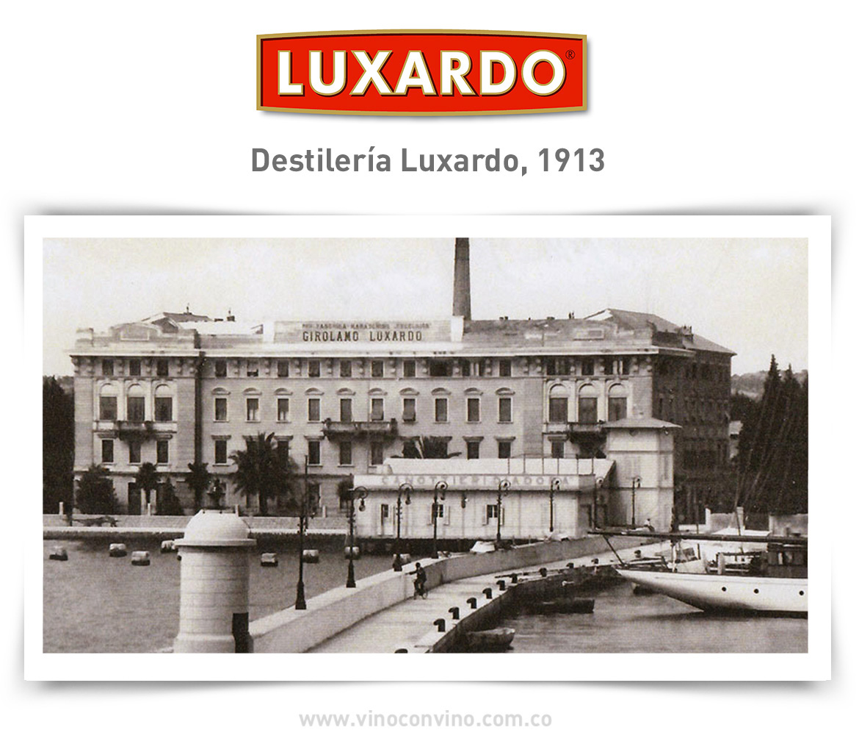 Destilería Luxardo 1913