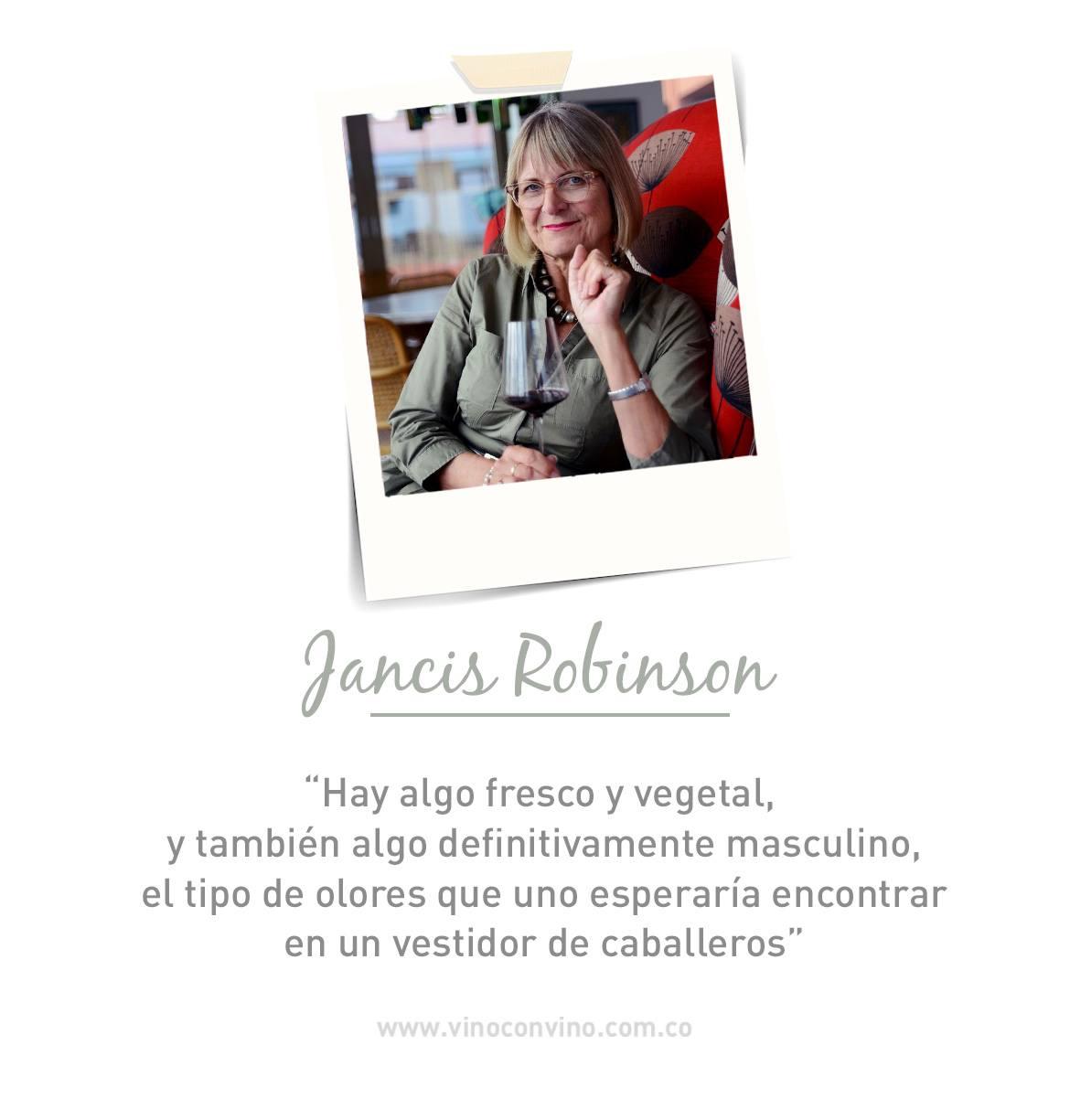 Jancis Robinson-critica de vinos