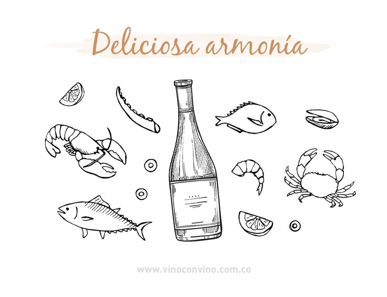 Armonía o maridaje con Albariño-Blog vinoconvino.com