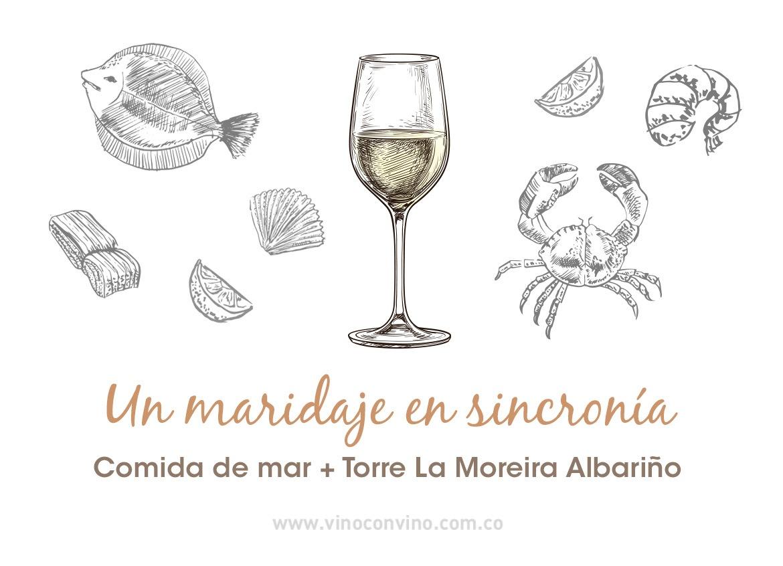 Con qué marida un Albariño-Torre de la Moreira