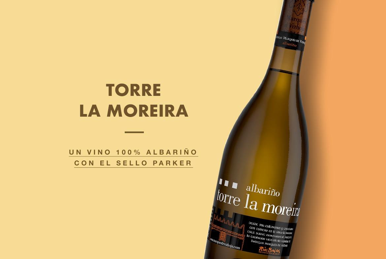 Torre La Moreira, un vino 100% albariño con el sello Parker