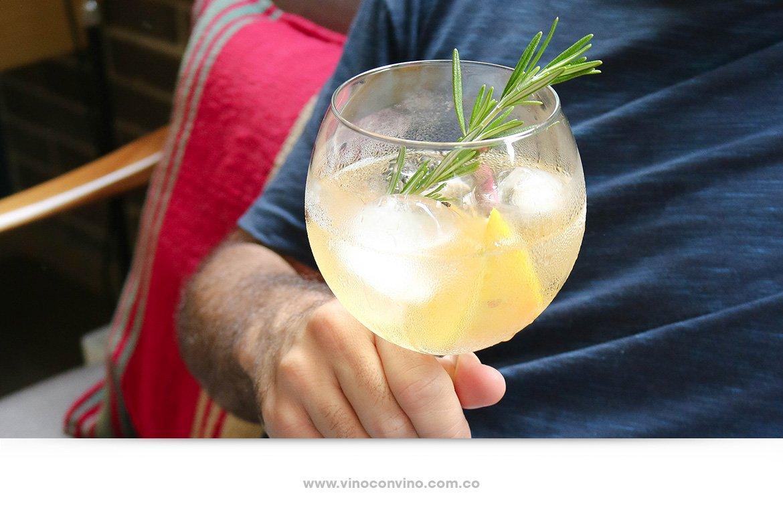 Receta de Gin Tonic con Fifty Pounds