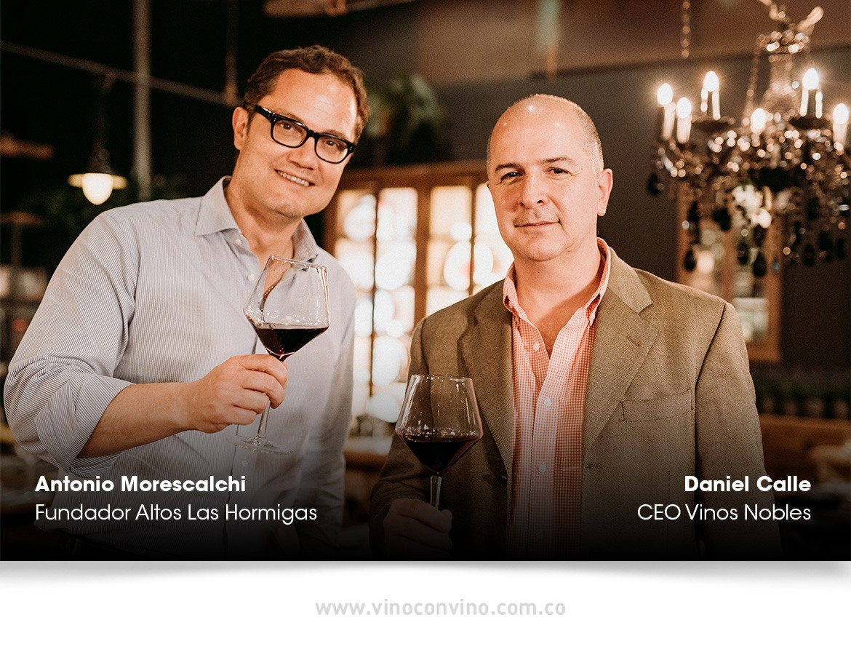 Daniel Calle CEO de Novili conversa con Antonio Morescalchi de Altos Las Hormigas