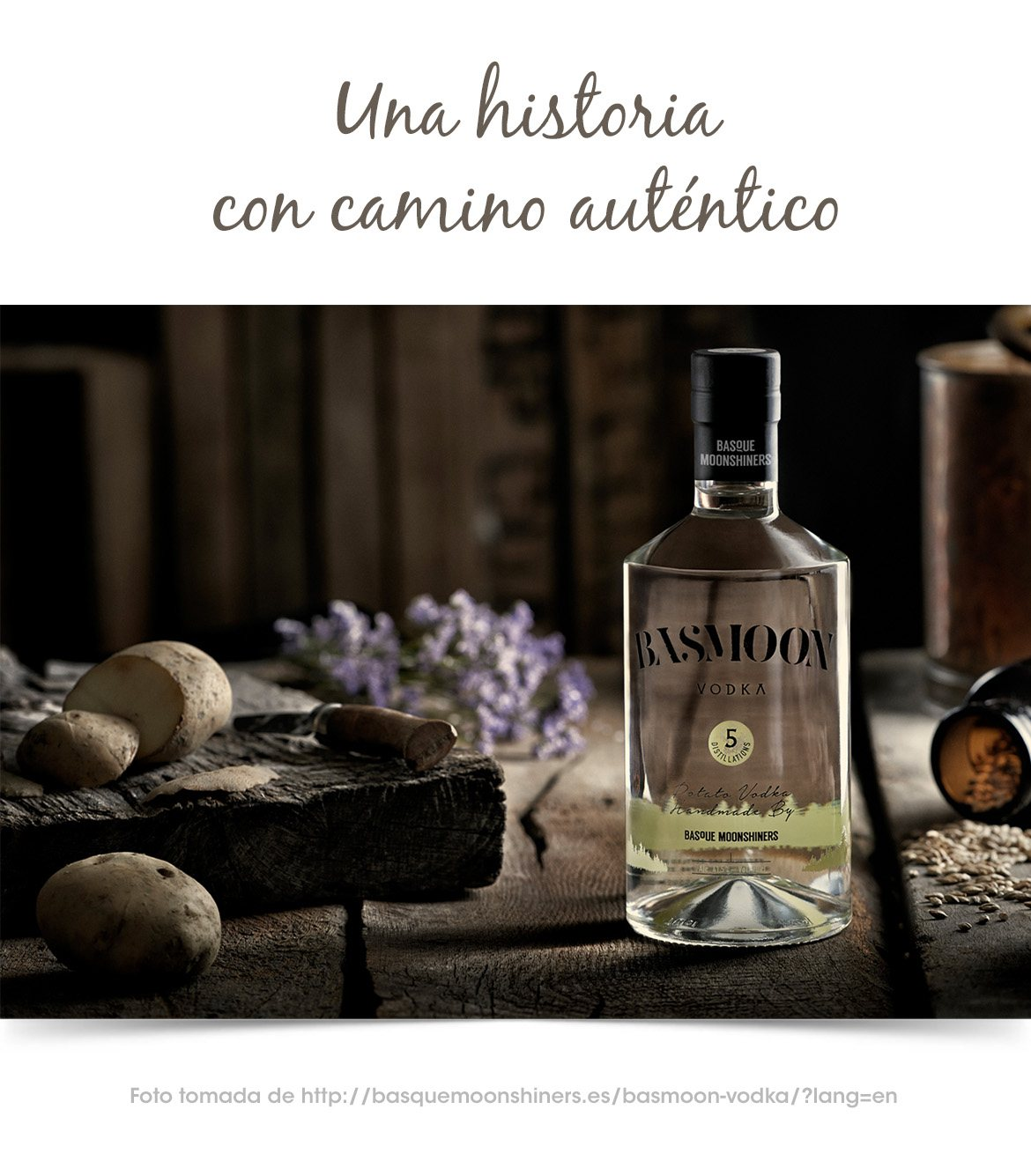 Vodka Bassmoon y su historia