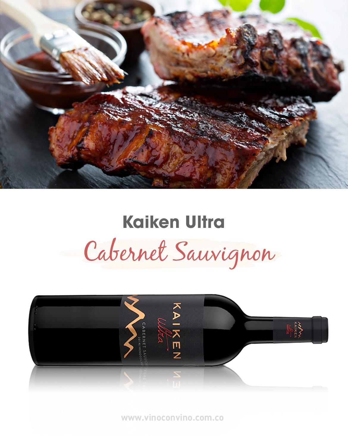 ¿Con qué acompaño una copa de vino tinto Cabernet Sauvignon? - Blog vinoconvino