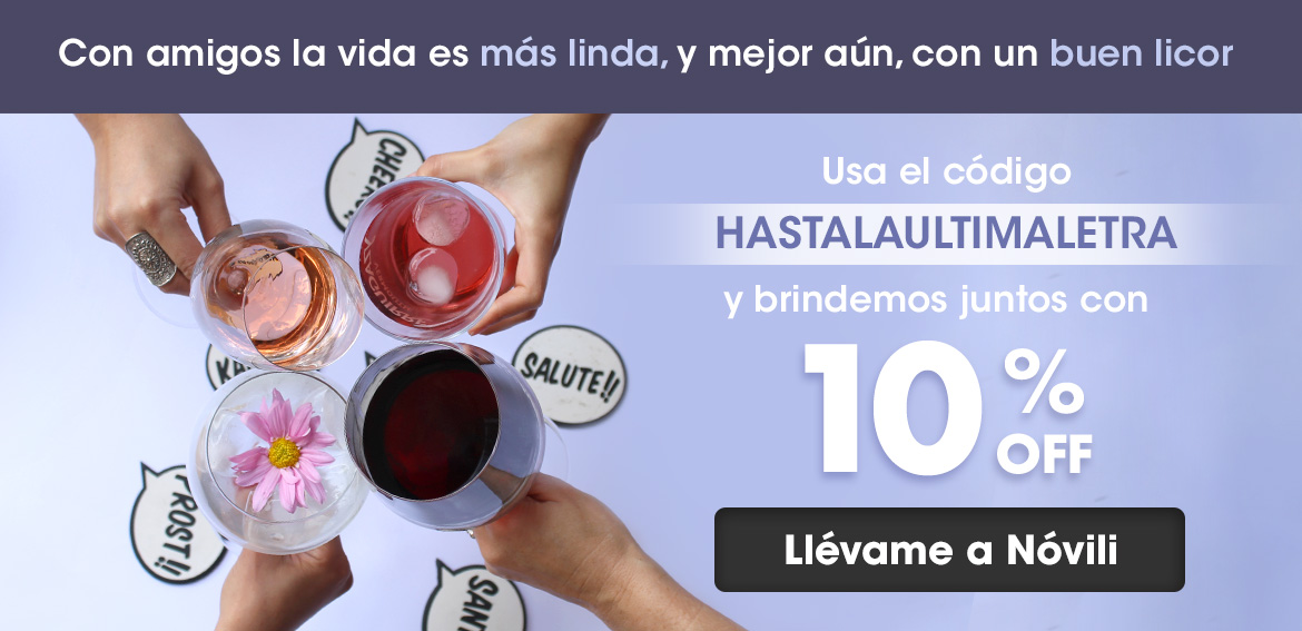 Banner Hasta La Ultima Letra-10% OFF