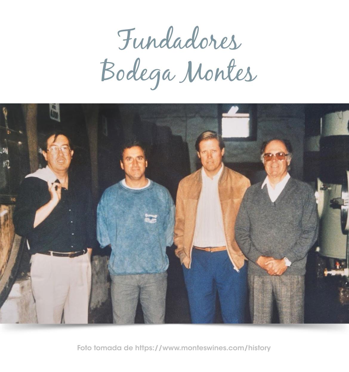 Los creadores de la bodega Montes en Chile
