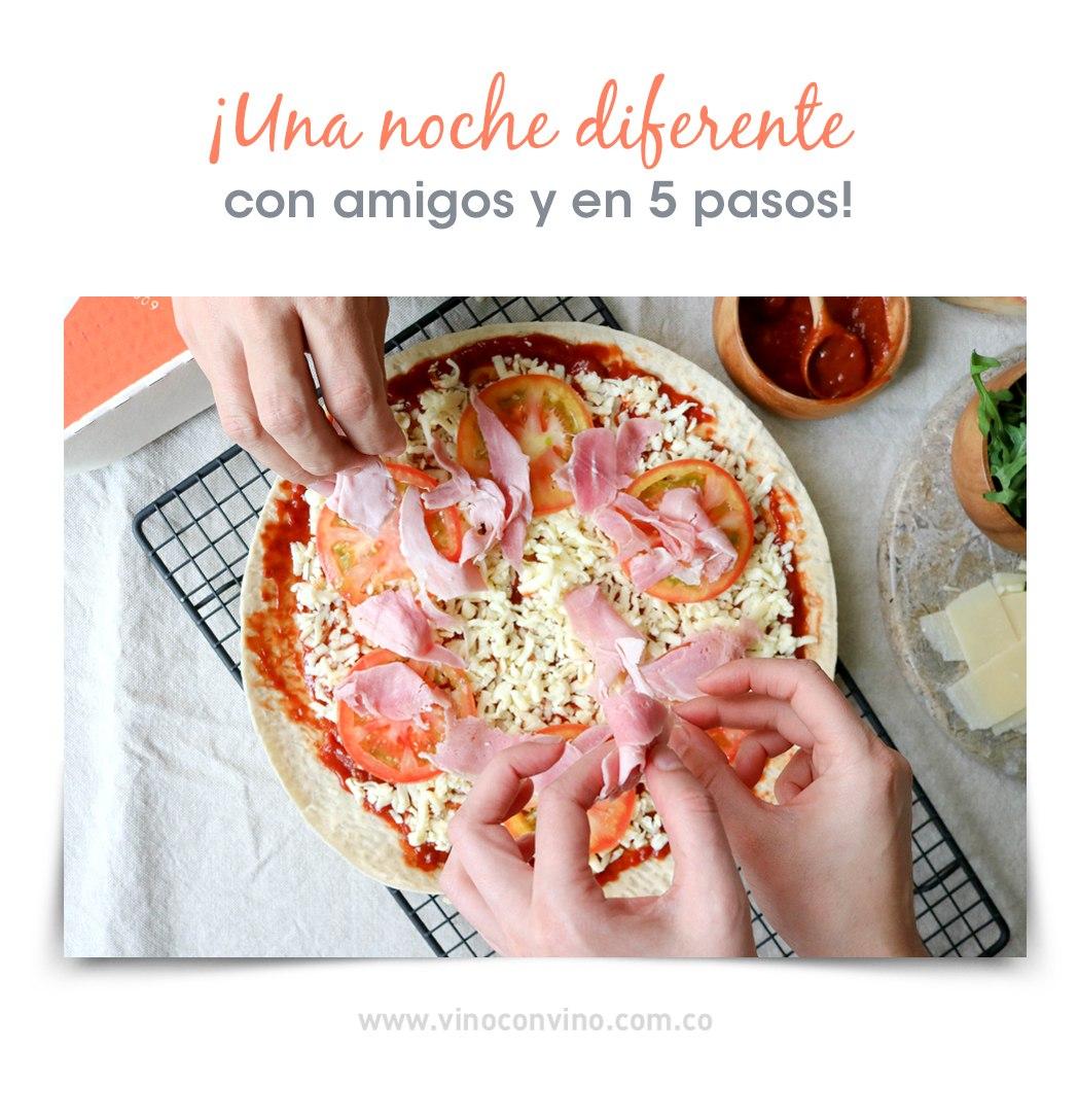 Ingredientes Pizza Box