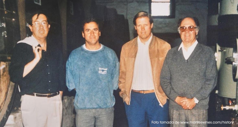 Aurelio Montes, Douglas Murray, Alfredo Vidaurre y Pedro Grand