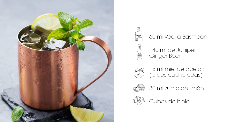 Cócteles con vodka: Moscow Mule