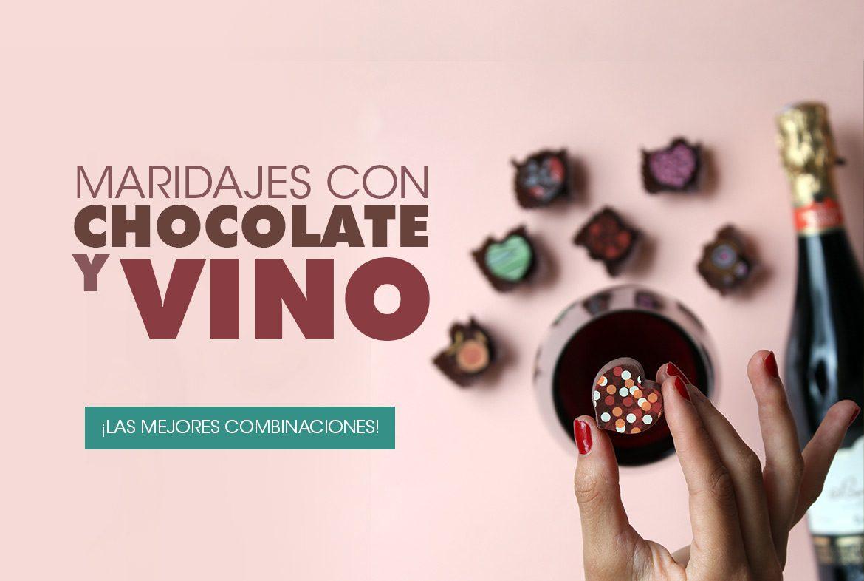 maridaje de chocolate y vino