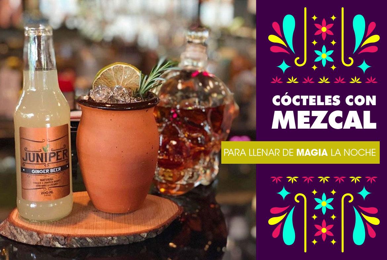 Cocktail Time: Cócteles con mezcal para llenar de magia la noche