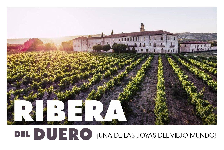 Ribera del Duero con sus paisajes tradicionales