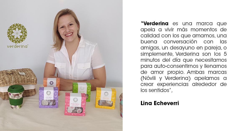 Lina Echeverri, Verderina.