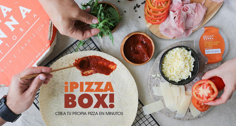 Homemade Pizza- Pizza Box Nóvili