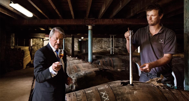 Richard Paterson Master Distiller Dalmore- Nóvili