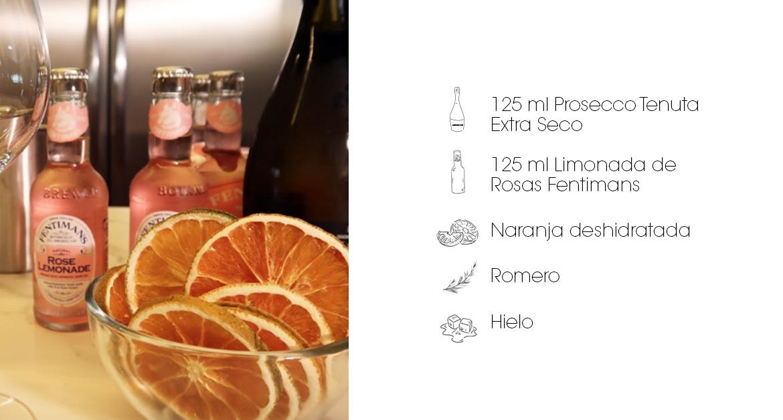 Cócteles para el paladar femenino: Rosé Spritz