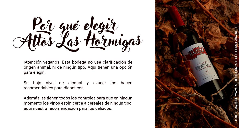Vinos orgánicos en Nóvili - Altos Las Hormigas