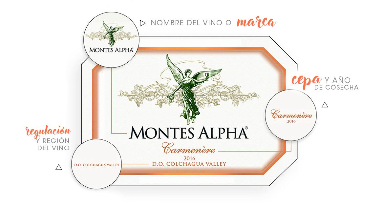 Entender la etiqueta de un vino