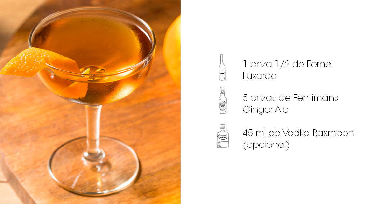 Cócteles con vodka: El Yerbatero