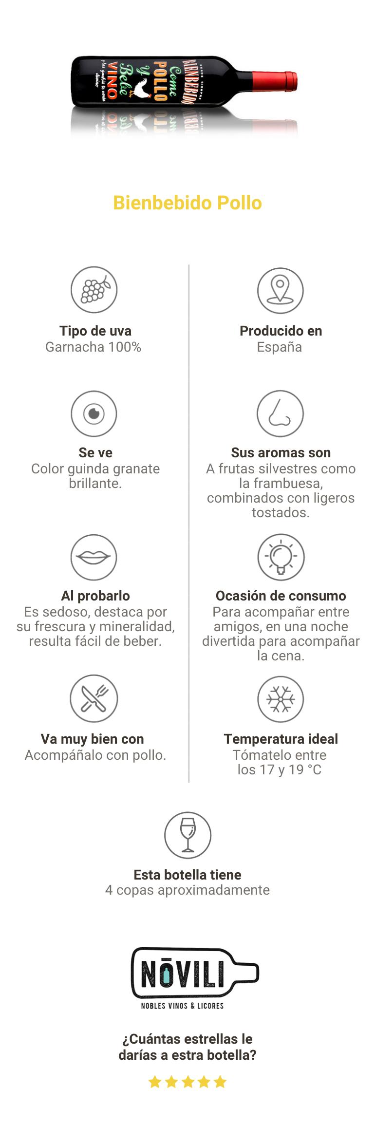 Compra Bienbebido Pollo Colombia