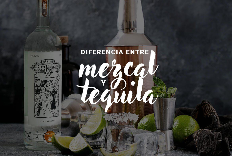 3 diferencias entre el tequila y el mezcal que debes conocer