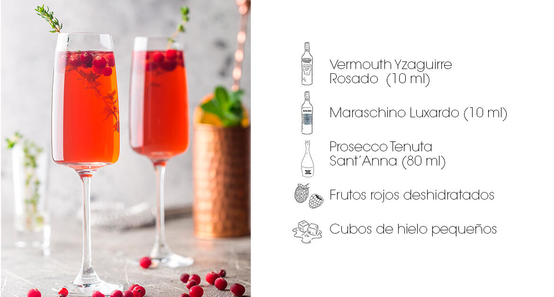 Receta Cóctel Maraschino Royal