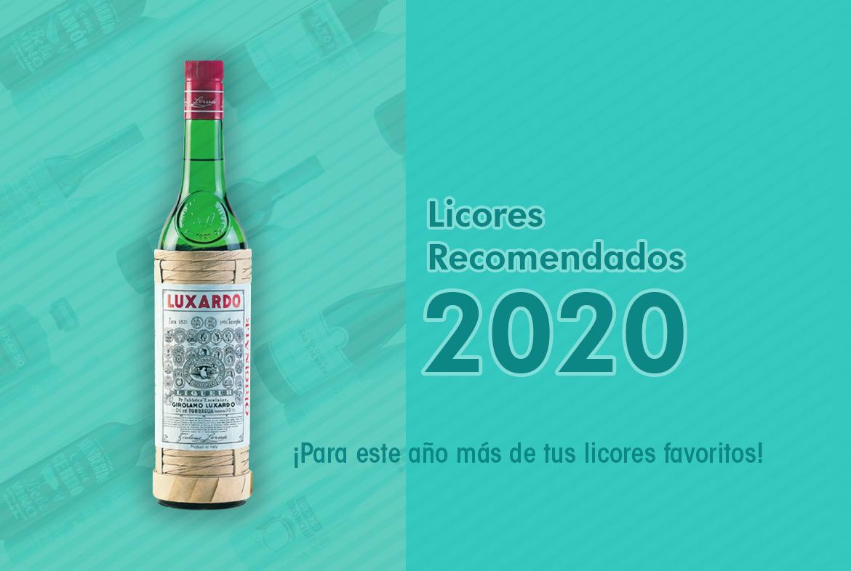 Licores recomendados 2020 - Nóvili